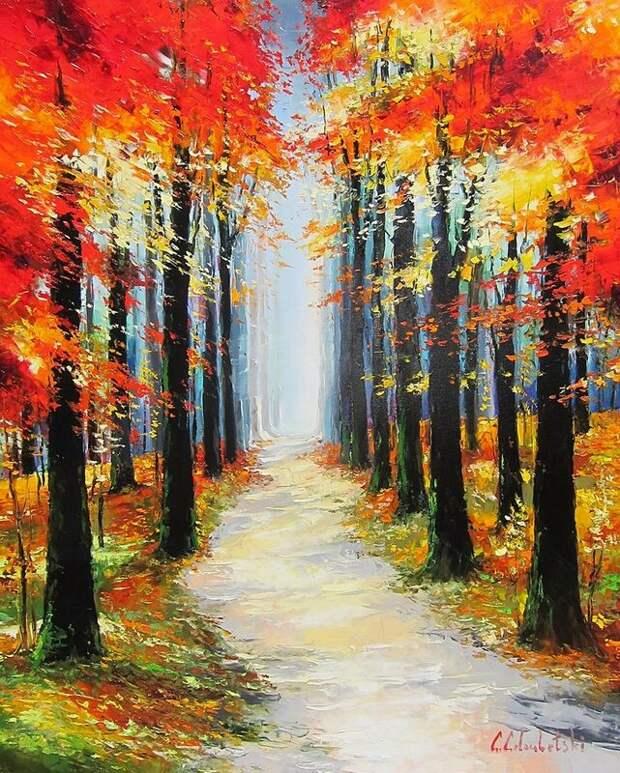 Странная, нежная осень… она пока не моя…