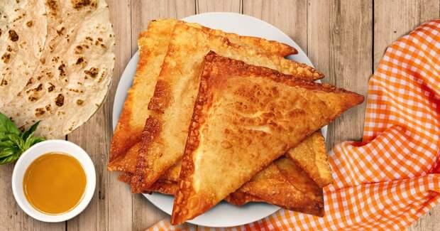 Ленивые чебурекииз лаваша: вы влюбитесь в это блюдо!