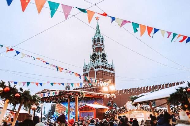 В Москве отменили все массовые мероприятия на Новый год
