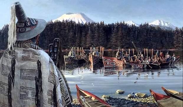 Корабли индейцев