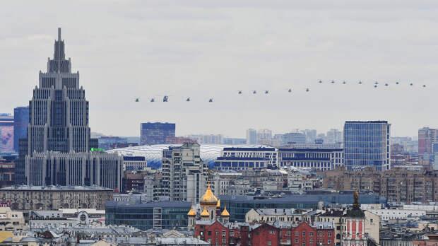Воздушный парад Победы в Москве, 9 мая 2020 года
