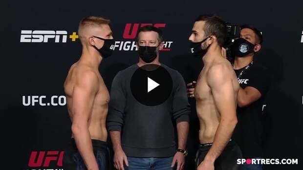 Битвы взглядов перед UFC Вегас 24: Уиттакер vs Гастелум