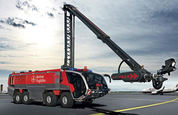 Аэродромная пожарная машина Rosenbauer Panther HRET 6x6