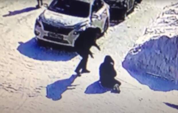 Испинал и бросил на землю 82-летнюю старушку - божий одуванчик после инсульта пьяный прохожий в микрорайоне Северном Бердска. Смотрите видео