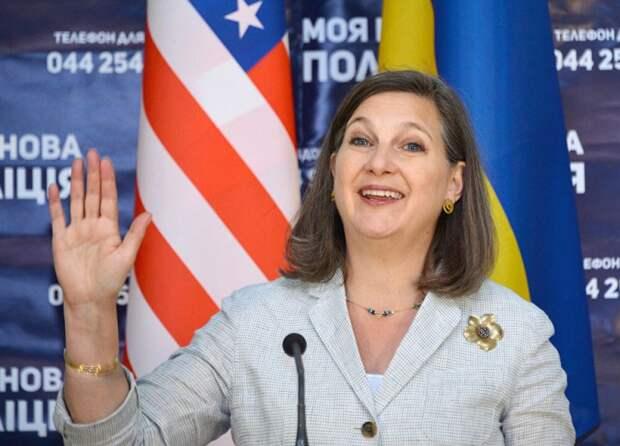 Нуланд посадила Украину на крючок - придется решать проблему Донбасса