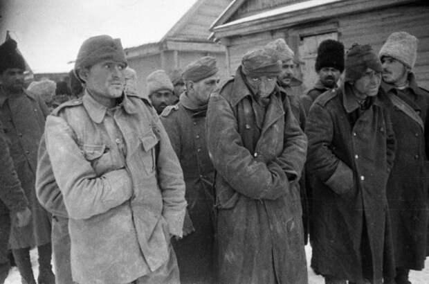 Солдат каких стран больше всего попало в советский плен во время войны