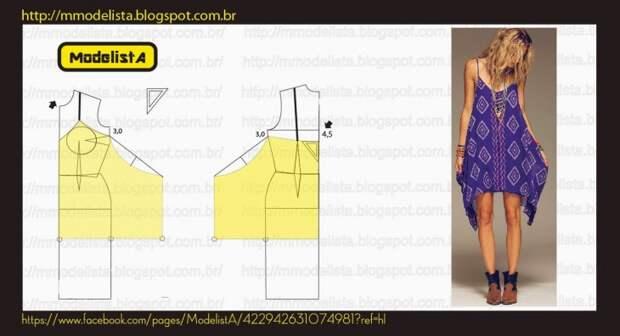 Одежда из платков (20 идей и выкроек)