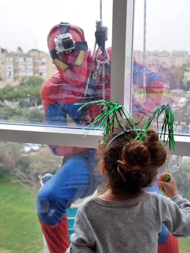 Супергерои  в больнице (подборка)
