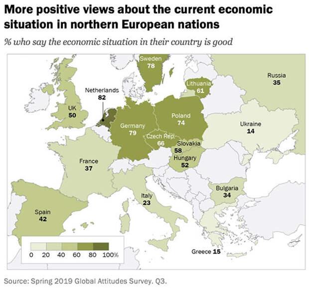 Почему «європейська нація» бежит из ЦэЕвропы