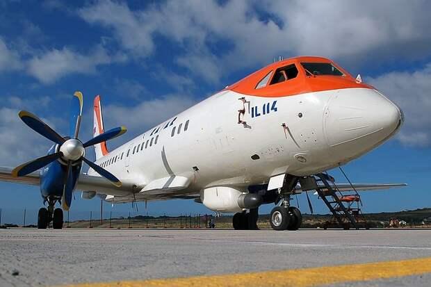 Самолеты Ил-114 намерены производить в Индии