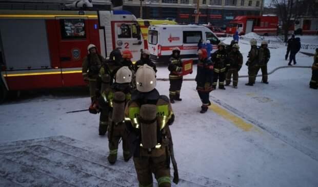 Прокуратура Екатеринбурга начала проверку из-за пожара в23-этажном офисном здании