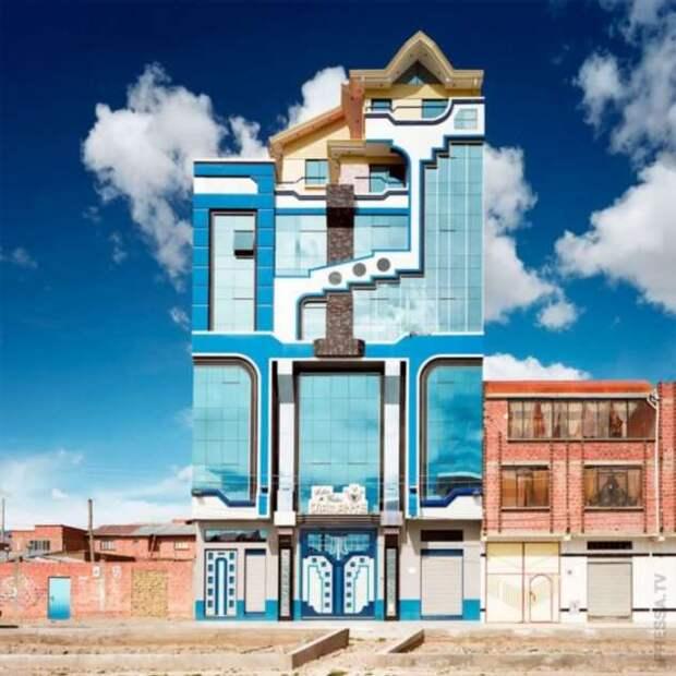 Боливийский архитектор наполняет город яркими красками