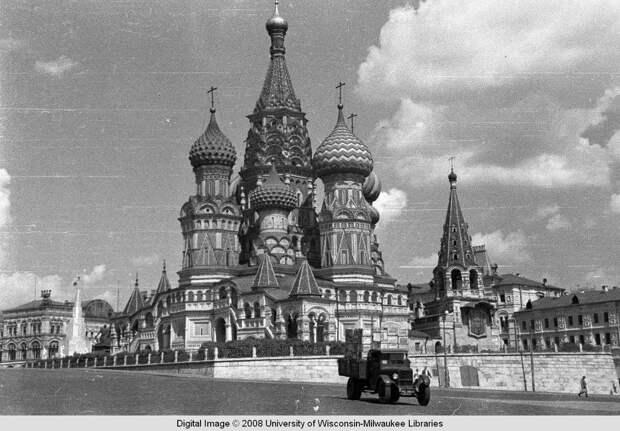 Москва 1939 года в цвете