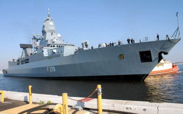 Германия направит фрегат для «сдерживания Китая» в Тихом океане