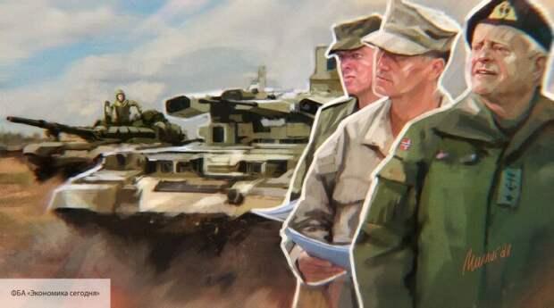 Леонков предупредил о возможном выдвижении войск НАТО, спрятанных в Европе