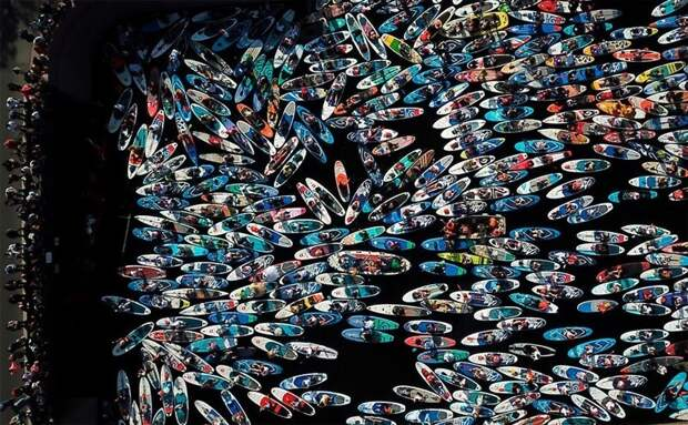 36 невероятных дрон-фотографий, демонстрирующих разнообразие нашей планеты вовремя пандемии