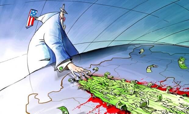 Россию буквально на аркане втаскивают в войну
