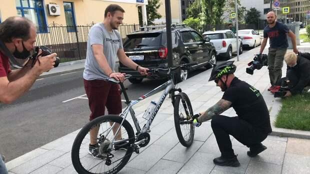 ЦОДД запустили велопатруль на улицах Москвы