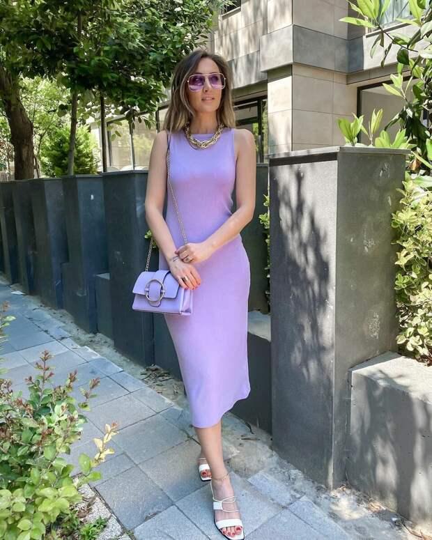 Лиловый цвет бесподобен: как носить одежду лилового оттенка, чтобы получились красивые образы
