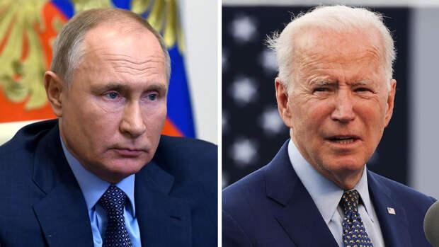 Байден выразил надежду на встречу с Путиным в июне