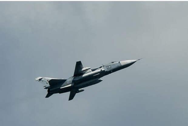 Британия сообщила о перехвате российского Су-24 у границ Румынии