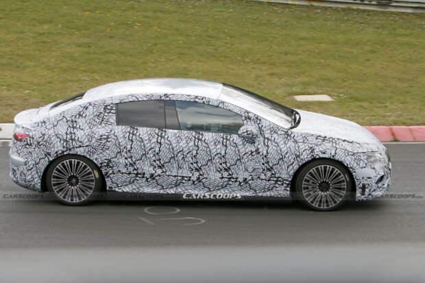 Mercedes готовит электрический аналог Е-класса