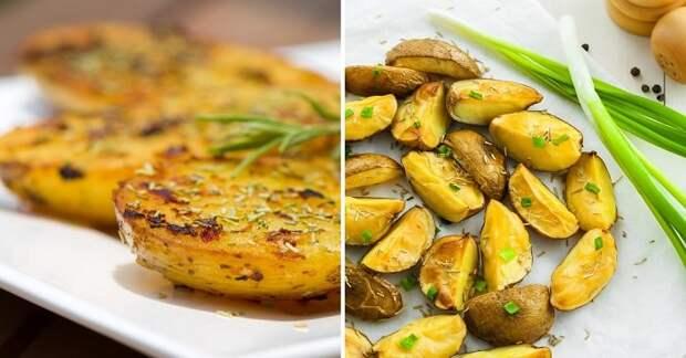 Запеченный картофель по - гречески