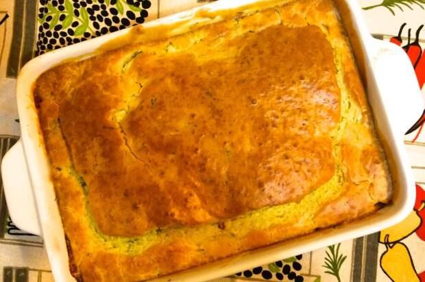 Семейный рецепт пирога с рыбой