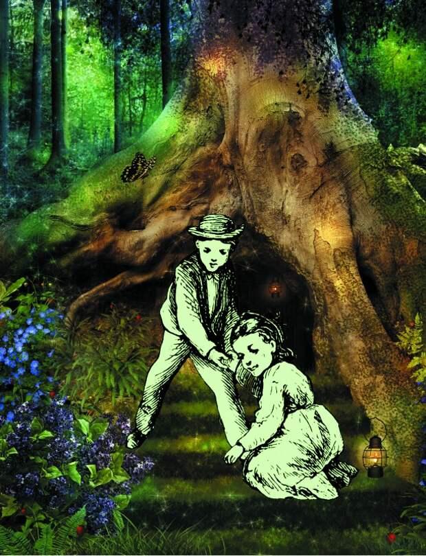 Зелёные дети из волчьей ямы