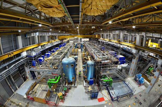 Часть криокомбината ИТЭР изнутри / ©tnenergy.livejournal.com