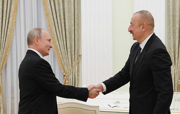 Путин отметил восстановление экономических отношений России и Азербайджана