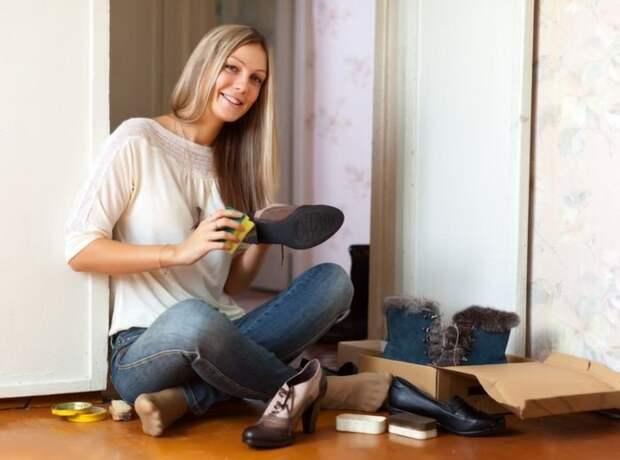 Уход за обувью: полезные советы