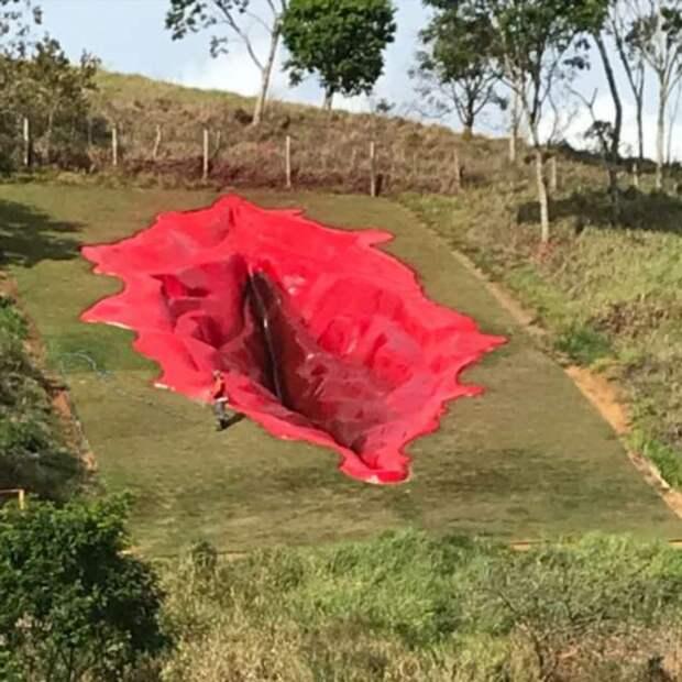 Дива — 33-метровая вагина в Бразилии