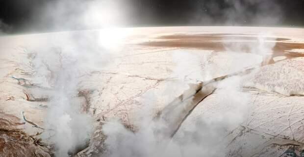 «Хаббл» обнаружил наличие непрерывно возобновляющегося водяного пара в атмосфере Европы