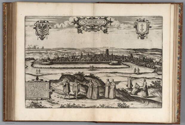 Данциг, начало XVII века - Польский орёл над Балтикой   Warspot.ru