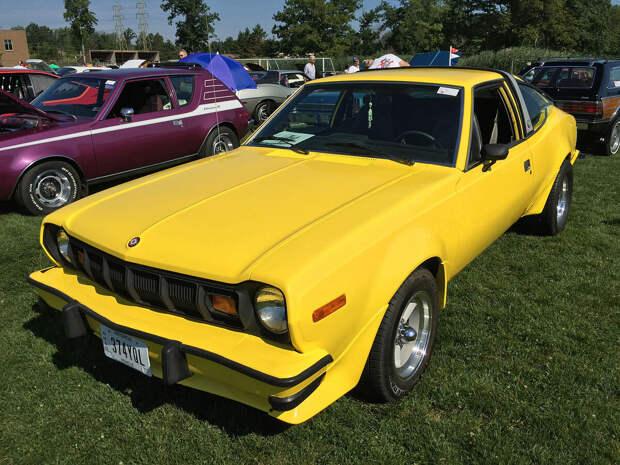 Очень редкий 1977 AMC Hornet AMX. Легендарная машина.