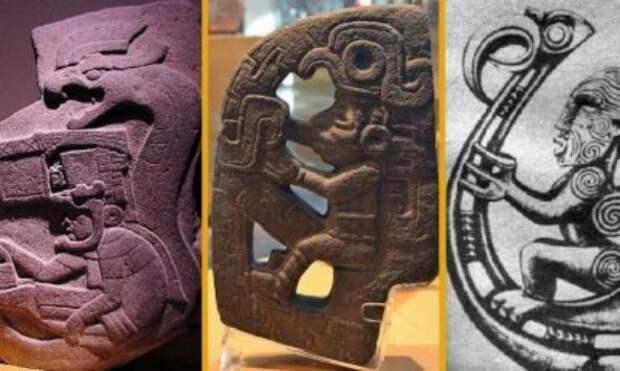 Загадки цивилизаций, майя, ацтеки, Египет, маори, Пернатый змей