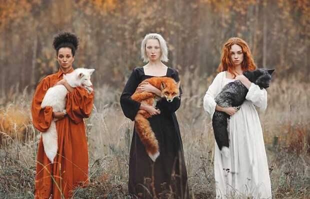 Фотографии людей и животных, которые похожи на иллюстрации к сказкам