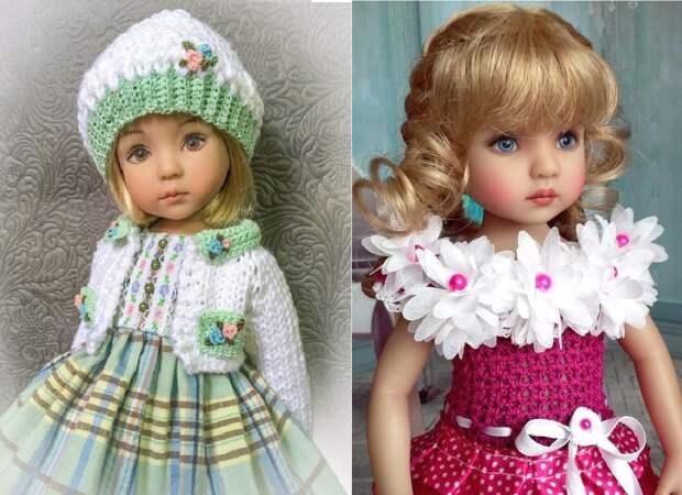 Куклы Дианы Эффнер