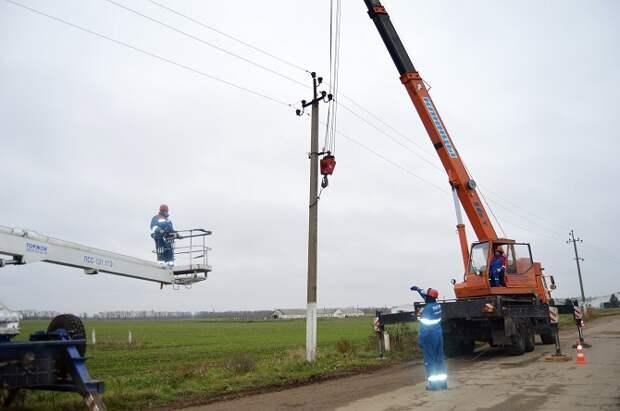 Свыше 500 километров ЛЭП отремонтируют лабинские энергетики в 2021 году