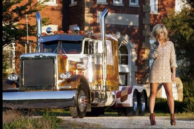 Американская классика: тягачи Peterbilt идлинноногие красотки