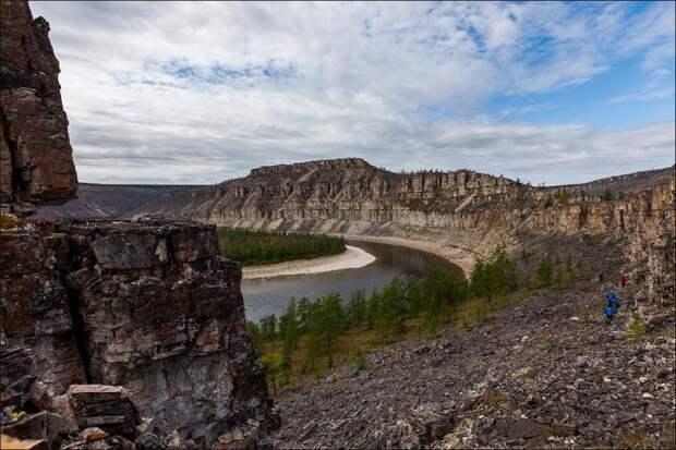 Самое красивое место Анабарского плато