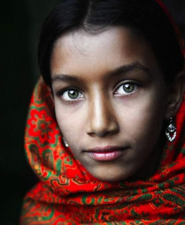 Очаровательная жительница Бангладеша