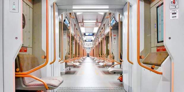 С начала года в метро столицы стало в 1,5 раза больше новых поездов «Москва-2020»