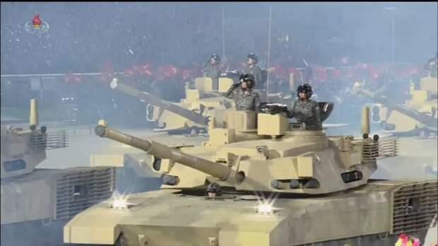 КНДР показала перспективный основной боевой танк