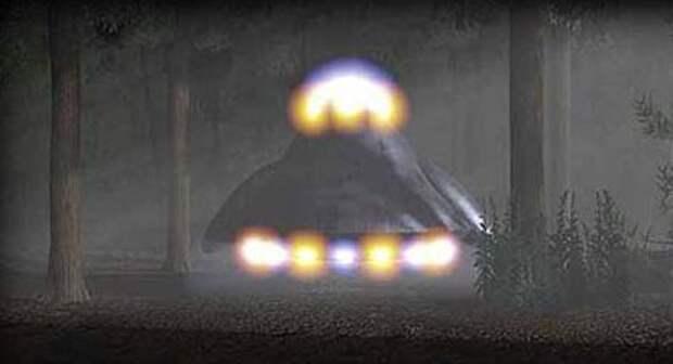 Встреча с НЛО в Рэндлшемском лесу