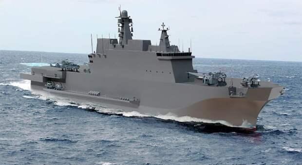 Корабли проекта 23900: на что будут способны российские «Мистрали»
