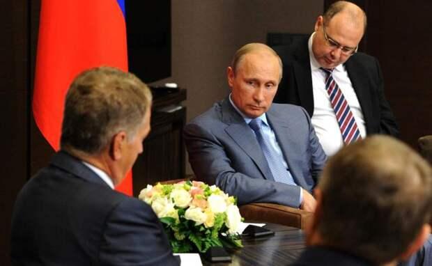 Путин ответил на просьбу главы Финляндии о включении транспондеров российских ВВС
