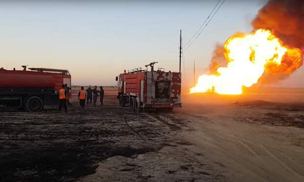 Мощный взрыв на газопроводе обесточил всю Сирию