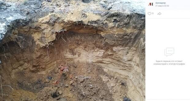 Во время строительных работ в Чапаевском переулке нашли человеческие останки